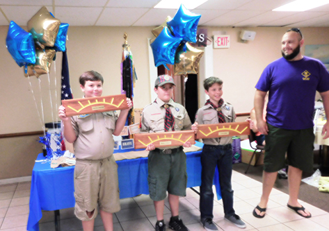 2017 DeLand pinewood derby winners