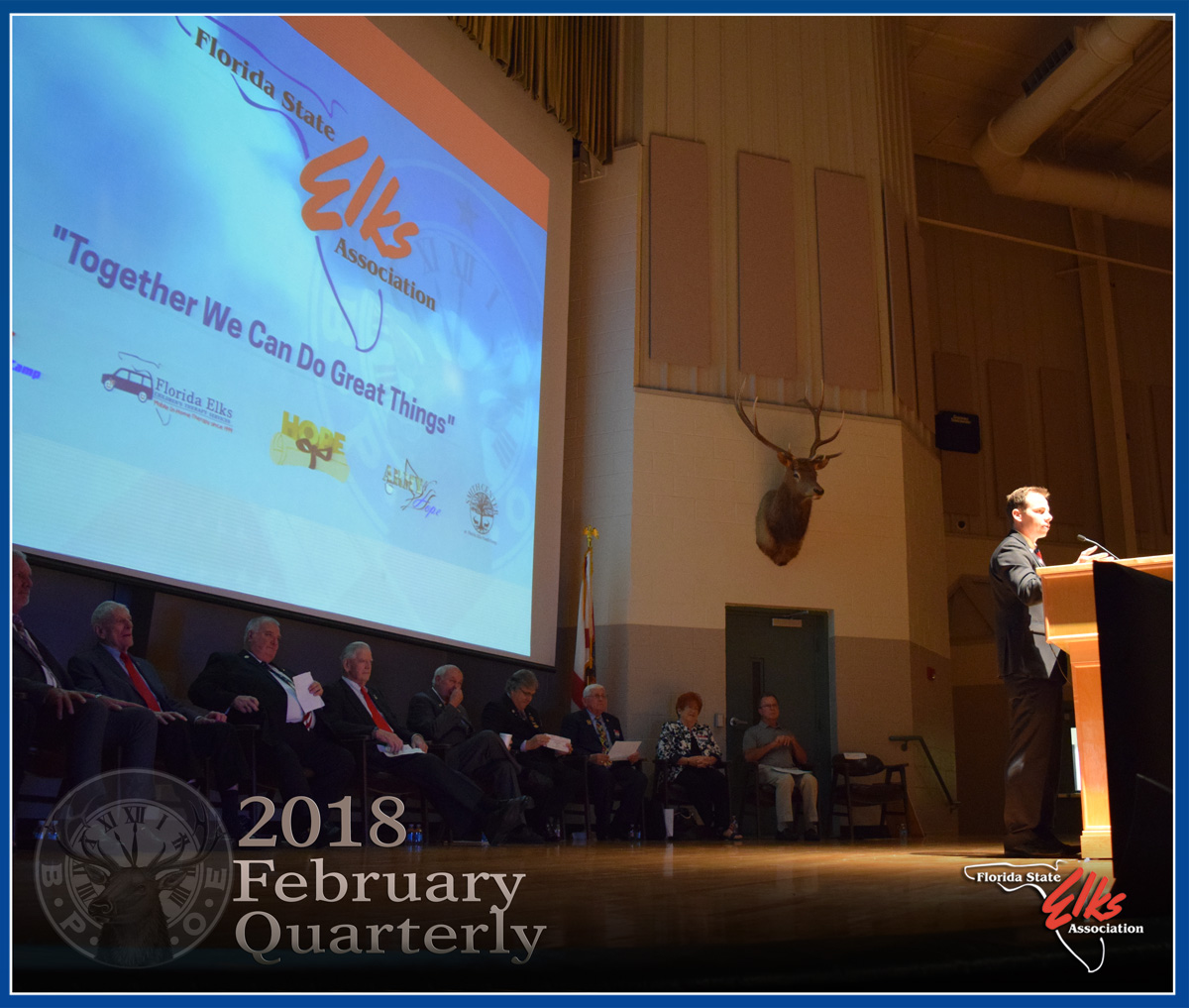 Florida Elks February Quarterly