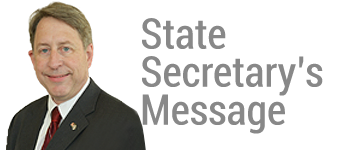 FSEA State Secretary's Message