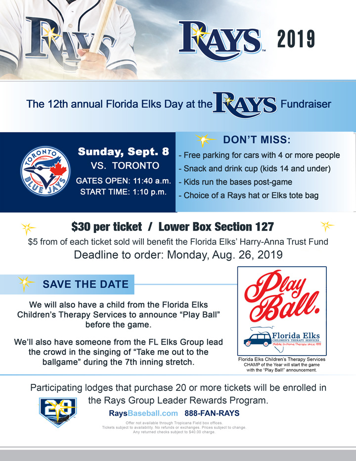 Day at the Rays 2019